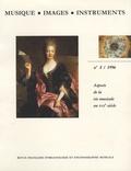 Karel Moens et Denis Herlin - Musique, images, instruments N° 2, 1996 : Aspects de la vie musicale au XVIIe siècle.