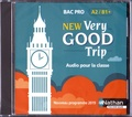 Malika Saidi et Isabelle Augé - New Very Good Trip Bac Pro A2/B1+. 1 CD audio