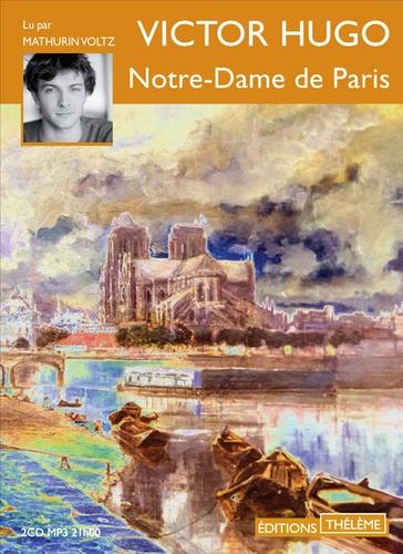 Notre-Dame de Paris  avec 2 CD audio MP3