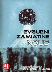 Evguéni Zamiatine - Nous. 1 CD audio MP3