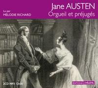 Jane Austen - Orgueil et préjugés. 2 CD audio MP3