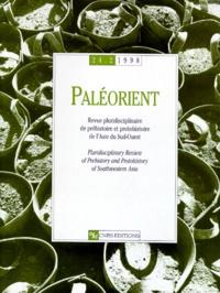 CNRS - Paléorient N° 24-2/1998 : .