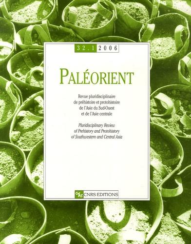 Jacques Liagre - Paléorient N° 32-1/2006 : .