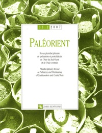 Jean Perrot et Bernard Vandermeersch - Paléorient N° 33-2/2007 : .