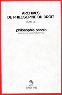 Michel Villey - Philosophie pénale.