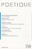 Jean de Guardia et Marie Parmentier - Poétique N° 158, Avril 2009 : .