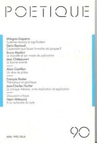 Poétique N° 90.pdf