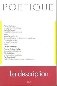 Seuil - Poétique N° 99 : La description.