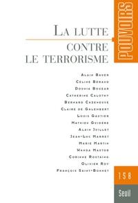 Jean-Luc Marret et Olivier Roy - Pouvoirs N° 158 : La lutte contre le terrorisme.