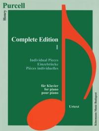 Purcell - Edition Complète I - Pièces individuelles pour piano - Partition.pdf