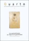 Virginio Baio et José-Ramon Ubieto - Quarto N° 82, Juin 2004 : Les psychothérapies au risque de la gouvernance.