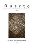 Jacques-Alain Miller et Eric Laurent - Quarto N° 87, Juin 2006 : Le secret des Noms-du-Père.