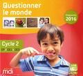 Claire Le Meur et Didier Lorès - Questionner le monde Cycle 2 CP-CE1-CE2 - Programme 2016. 1 Clé Usb