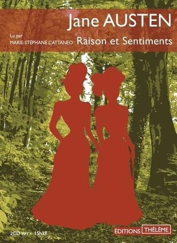 Raison et Sentiments  avec 2 CD audio MP3