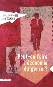 Asma Benhenda - Regards croisés sur l'économie N° 15 : Peut-on faire l'économie du genre ?.