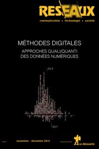 Dominique Cardon et Jean-Philippe Cointet - Réseaux N° 188 novembre-déce : Méthodes digitales - Approches quali/quanti des données numériques.