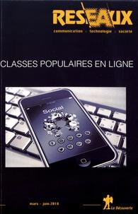 Dominique Pasquier - Réseaux N° 208-209, mars-jui : Classes populaires en ligne.