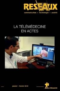 Gérald Gaglio et Alexandre Mathieu-Fritz - Réseaux N° 36, janvier-févri : La télémédecine en actes.