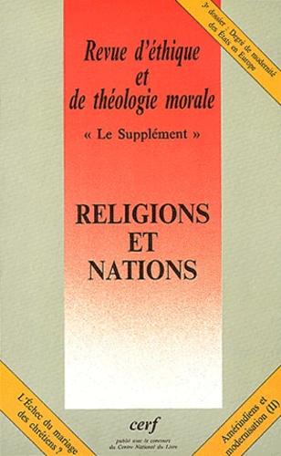 Jean-Paul Durand - Revue d'éthique et de théologie morale N° 228, mars 2004 : Religions et Nations.