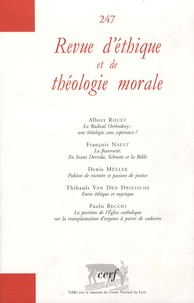 Albert Rouet et François Nault - Revue d'éthique et de théologie morale N° 247, Décembre 200 : .