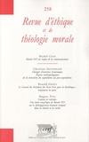 Michel Cool et Christian Arnsperger - Revue d'éthique et de théologie morale N° 258, Mars 2010 : .