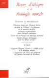 Alain Thomasset - Revue d'éthique et de théologie morale N° 297, mars 2018 : Filiation et procréation.