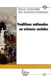 Johan Heilbron et Victor Karady - Revue d'histoire des sciences humaines N° 18, Avril 2008 : Traditions nationales en sciences sociales.