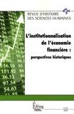 Claude Blanckaert - Revue d'histoire des sciences humaines N° 20, 2009 : L'institutionnalisation de l'économie financière : perspectives historiques.