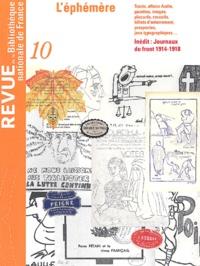 Bibliothèque Nationale France - Revue de la Bibliothèque nationale de France N° 10/2002 : L'éphémère.