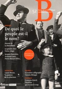 Bruno Racine - Revue de la Bibliothèque nationale de France N° 52/2015 : De quoi le peuple est-il le nom ?.