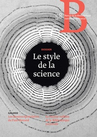 Eve Netchine - Revue de la Bibliothèque nationale de France N° 58/2019 : Le style de la science.