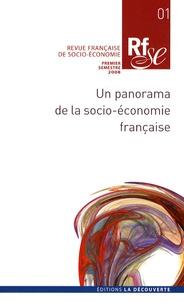 Eveline Baumann - Revue française de socio-économie N° 1, Premier semest : Un panorama de la socio-économie française.