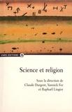 Claude Dargent et Yannick Fer - Science et religion.