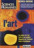 Nicolas Journet et Carlo Severi - Sciences Humaines Hors-Série n°37 : L'art.