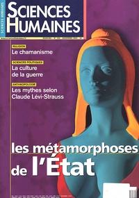 Sciences humaines - Sciences Humaines N° 133 Décembre 2002 : Les métamorphoses de l'Etat.