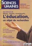 Nicolas Journet et Jean-Claude Ruano-Borbalan - Sciences Humaines N° 142 Octobre 2003 : L'éducation, un objet de recherche.