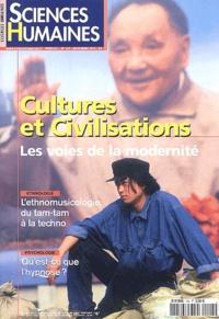 Régis Meyran et  Collectif - Sciences Humaines N° 143 Novembre 2003 : Cultures et civilisations, les voies de la modernité.