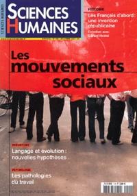 Jean-François Dortier et Isabelle Sommier - Sciences Humaines N° 144 Décembre 2003 : Les mouvements sociaux.