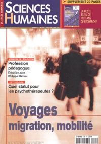 Gilles Marchand et Sylvain Allemand - Sciences Humaines N° 145 Janvier 2004 : Voyages, migration, mobilité.