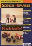 Sylvain Allemand et Peggy Buhagiar - Sciences Humaines N° 156, Janvier 2005 : Coparentalité, homoparentalité, monoparentalité... Où va la famille ?.