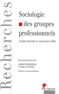Charles Gadéa et Didier Demazière - Sociologie des groupes professionnels - Acquis récents et nouveaux défis.