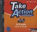 Nathan Technique - Taken Action Anglais Bac Pro industriel B1-B2 - 2 CD-Audio pour la classe.