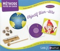 Sandra Meunier - Terre de joie Objectif bien-être cycles 2 et 3 - Avec 84 cartes de bien-être, 1 energy chime, 1 guide pédagoqique.