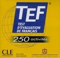 Sylvie Pons et Gaëlle Karcher - Test d'Evaluation du Français. 1 CD audio