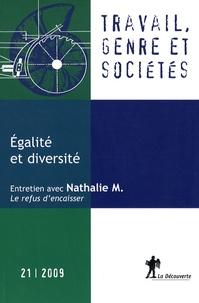 Margaret Maruani - Travail, genre et sociétés N° 21 : Egalité et diversité.