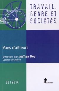 Margaret Maruani - Travail, genre et sociétés N° 32, novembre 2014 : Vues d'ailleurs.
