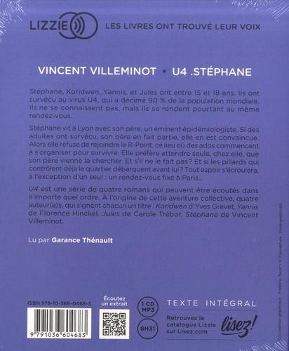U4  Stéphane -  avec 1 CD audio MP3