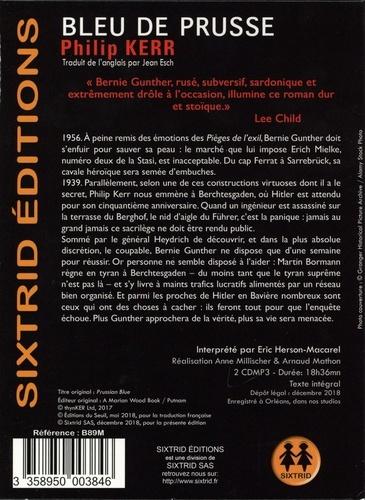 Une aventure de Bernie Gunther  Bleu de Prusse -  avec 2 CD audio MP3