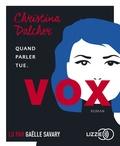 Christina Dalcher - Vox. 1 CD audio MP3