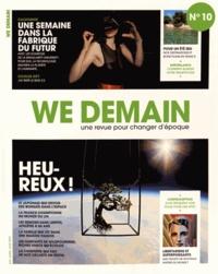 François Siégel - We Demain N° 10, juin, juillet : .